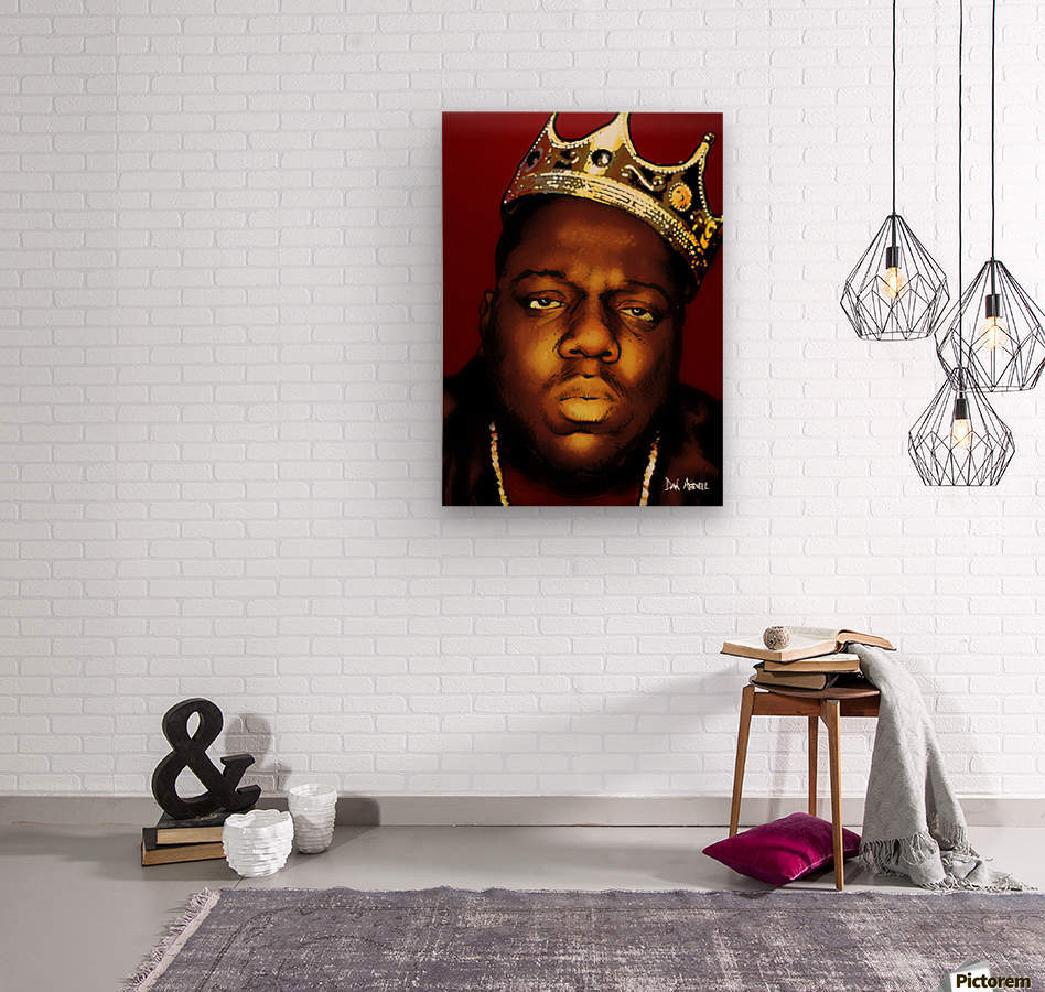 Biggie Smalls aka Notorious B.I.G  Wood print