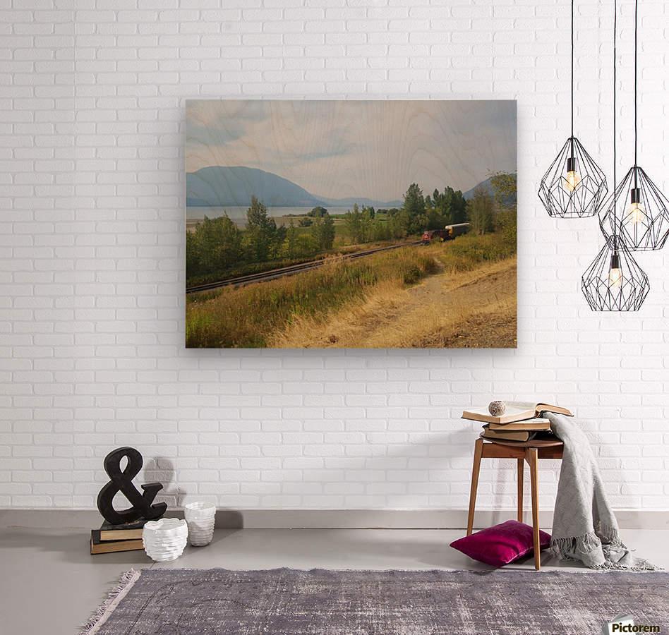 Smoky Mountains  Wood print