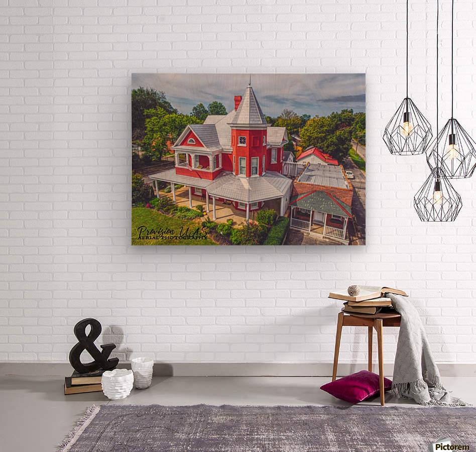 Lawrenceburg, TN | The Garrett House  Wood print