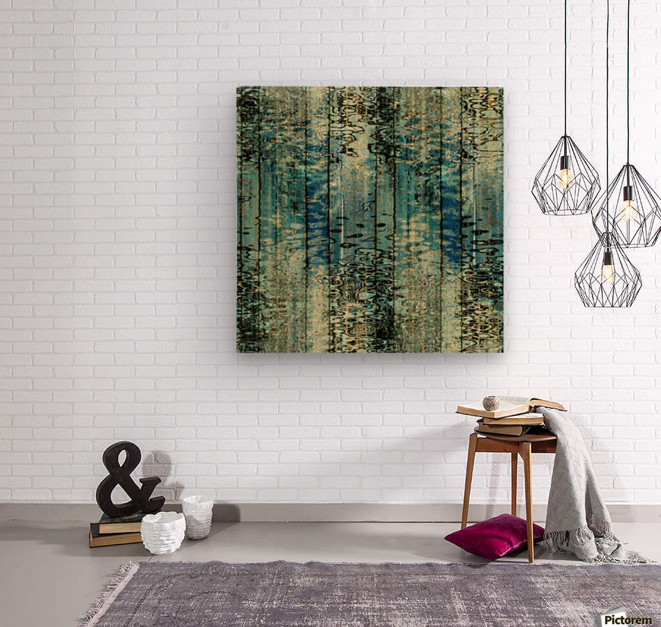 Behind The Rain  Wood print