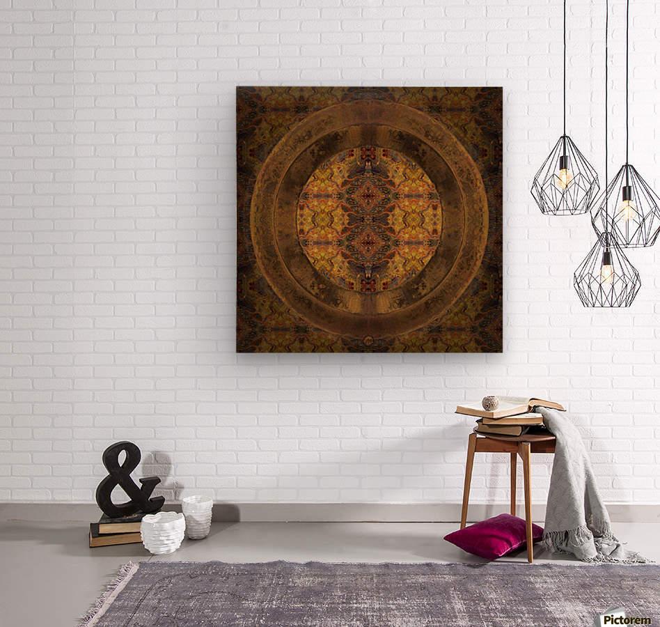 Casbah Window  Wood print