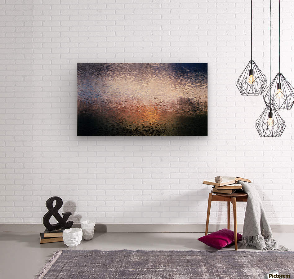 Oceanside Daybreak  Wood print