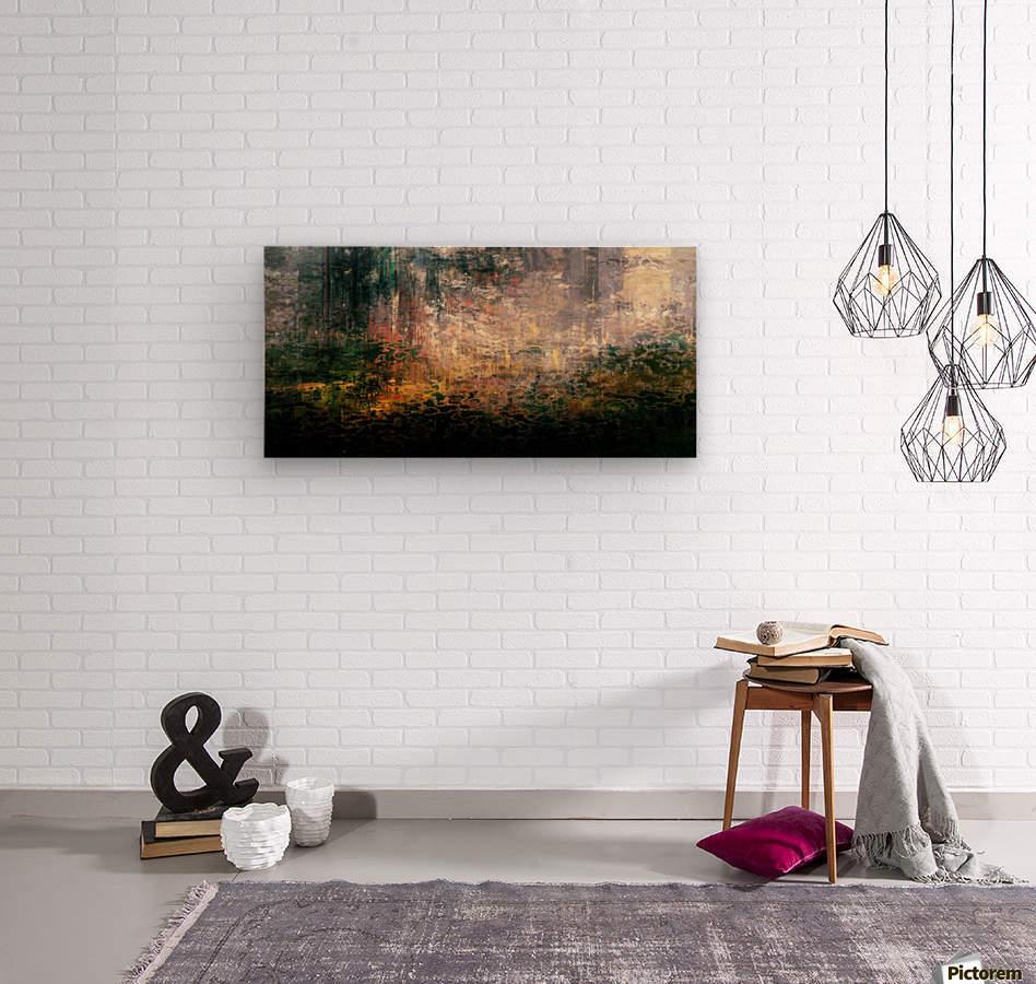 Dutch Shore  Wood print