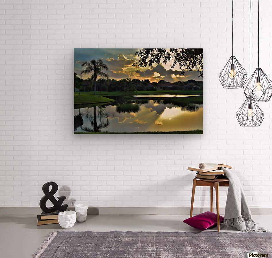 Sarasota Sunrise Reflection - vincenzo Canvas