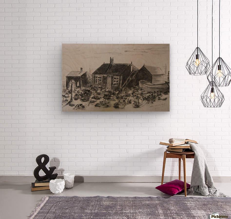 Romney Marsh   Wood print