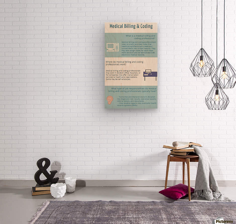 Infographic-Transwise  Wood print