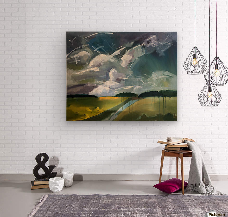 Dancing Clouds_final  Wood print