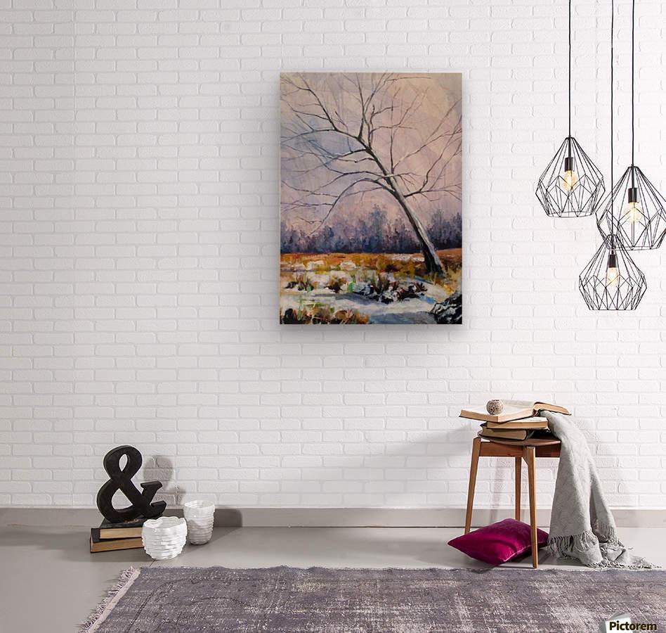 Walnut Tree  Wood print