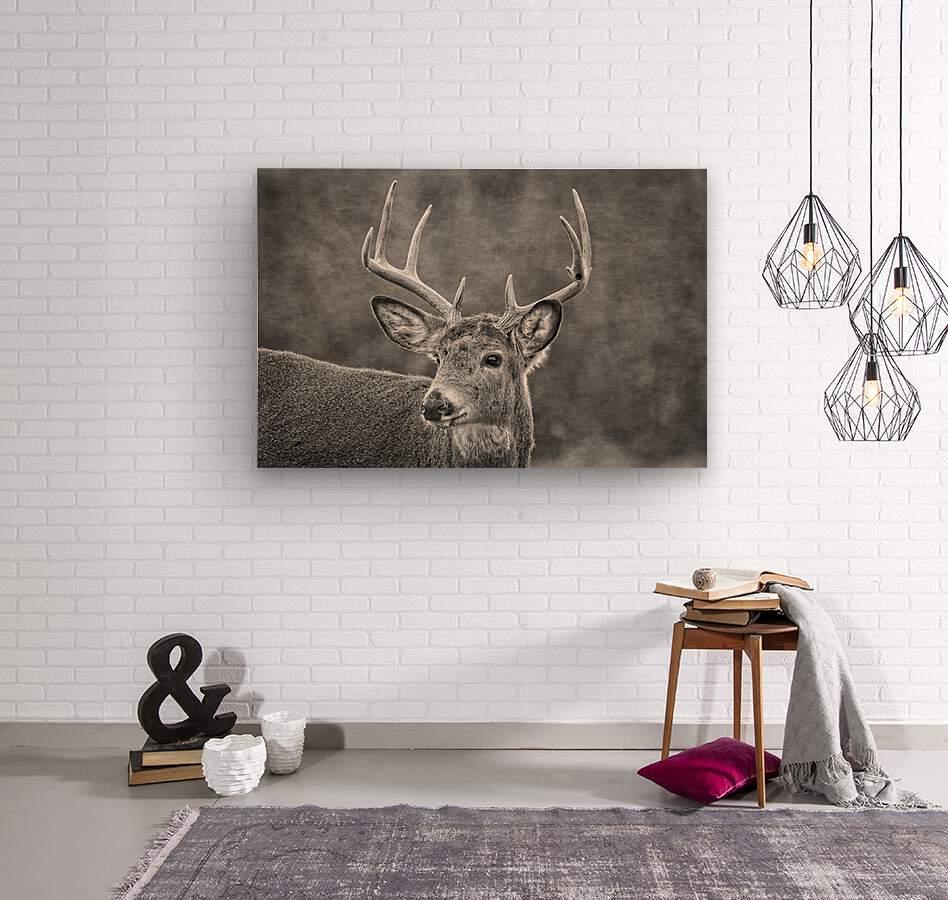 Stud  Wood print