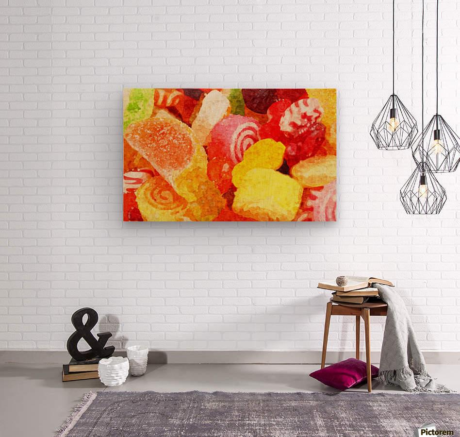 Marmalade  Wood print