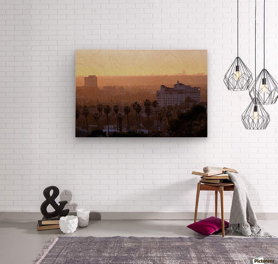 Southern California Sunshine  Wood print