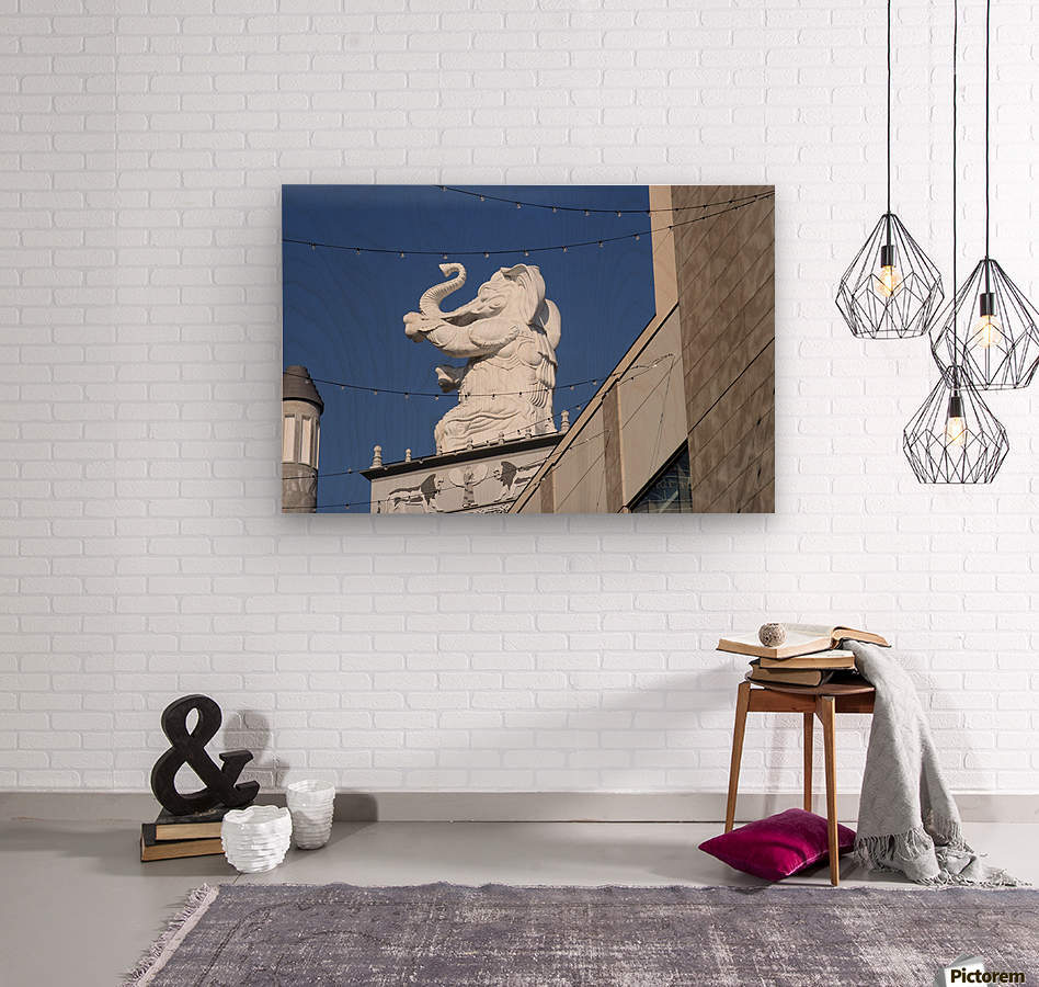 Hollywood Dancing Elephant  Wood print