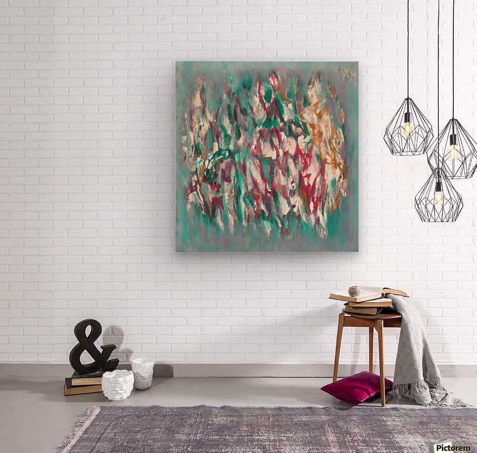 Blossom 1  Wood print