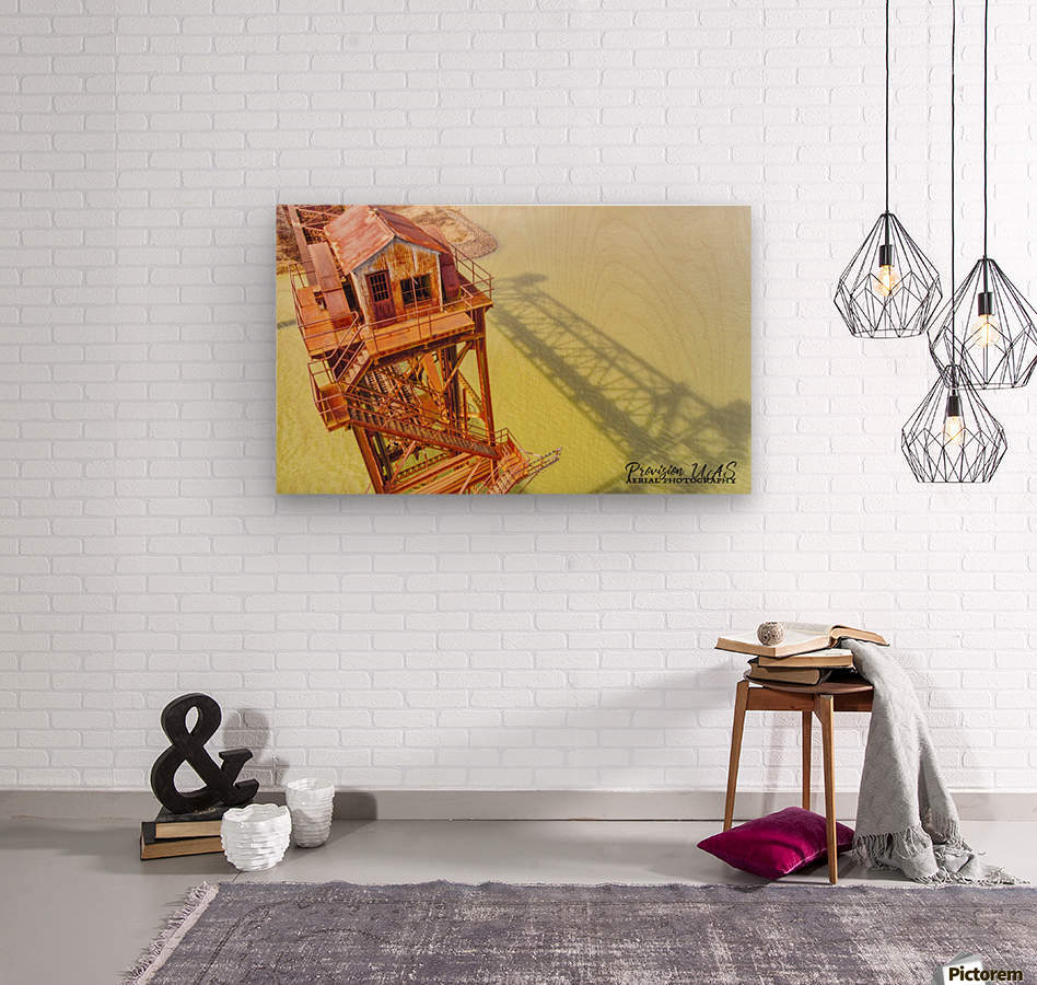 DeValls Bluff, AR | Remnant on the White River  Wood print
