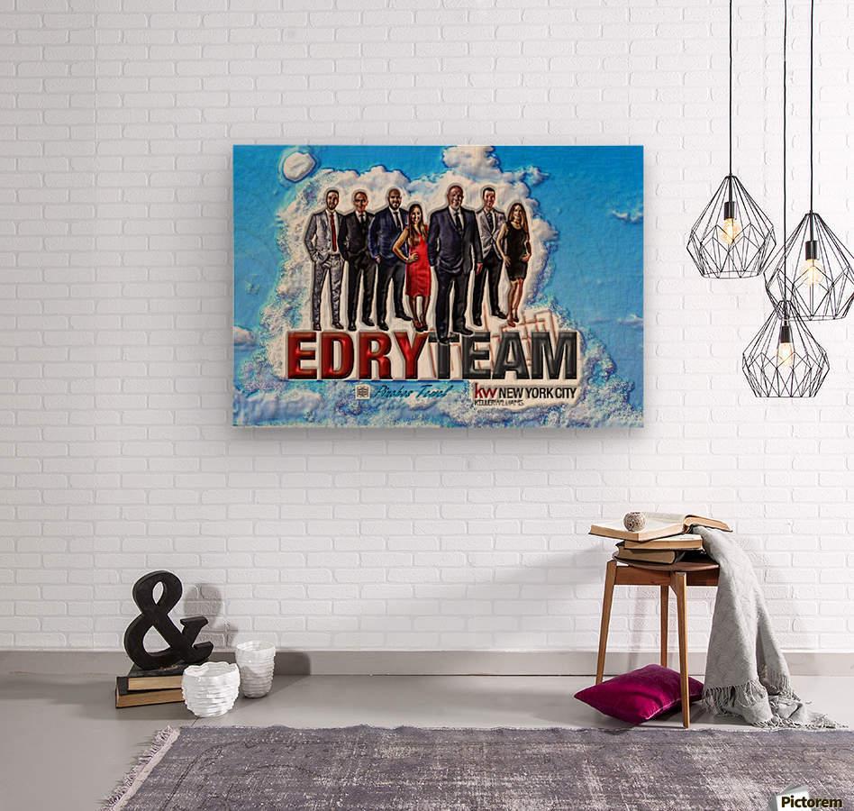 Art   Photo  EDRY team 1  Wood print