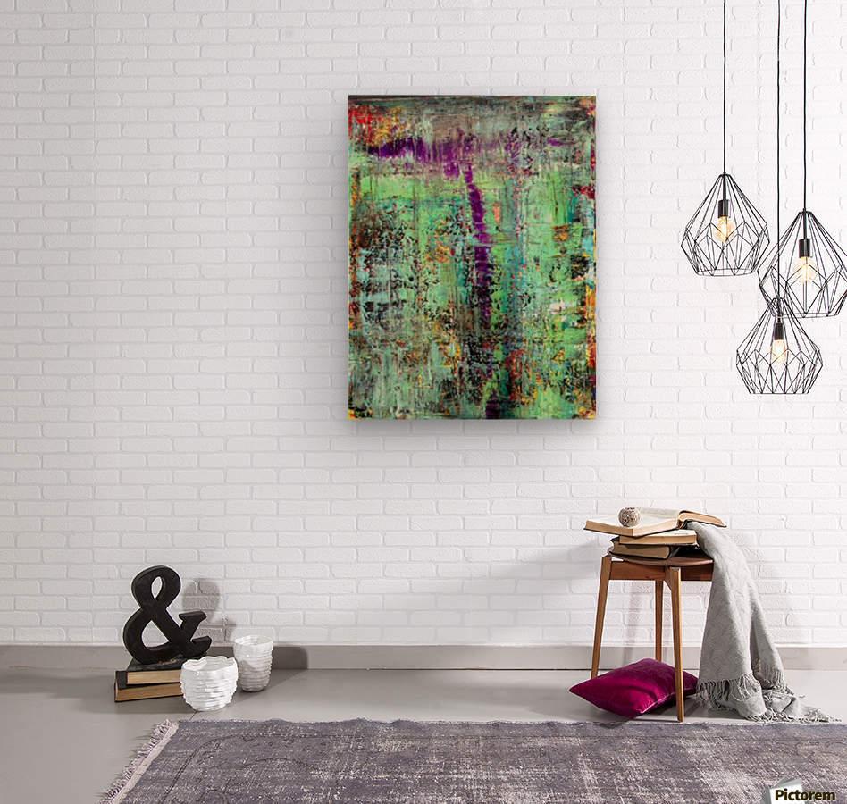 Mint Julep  Wood print