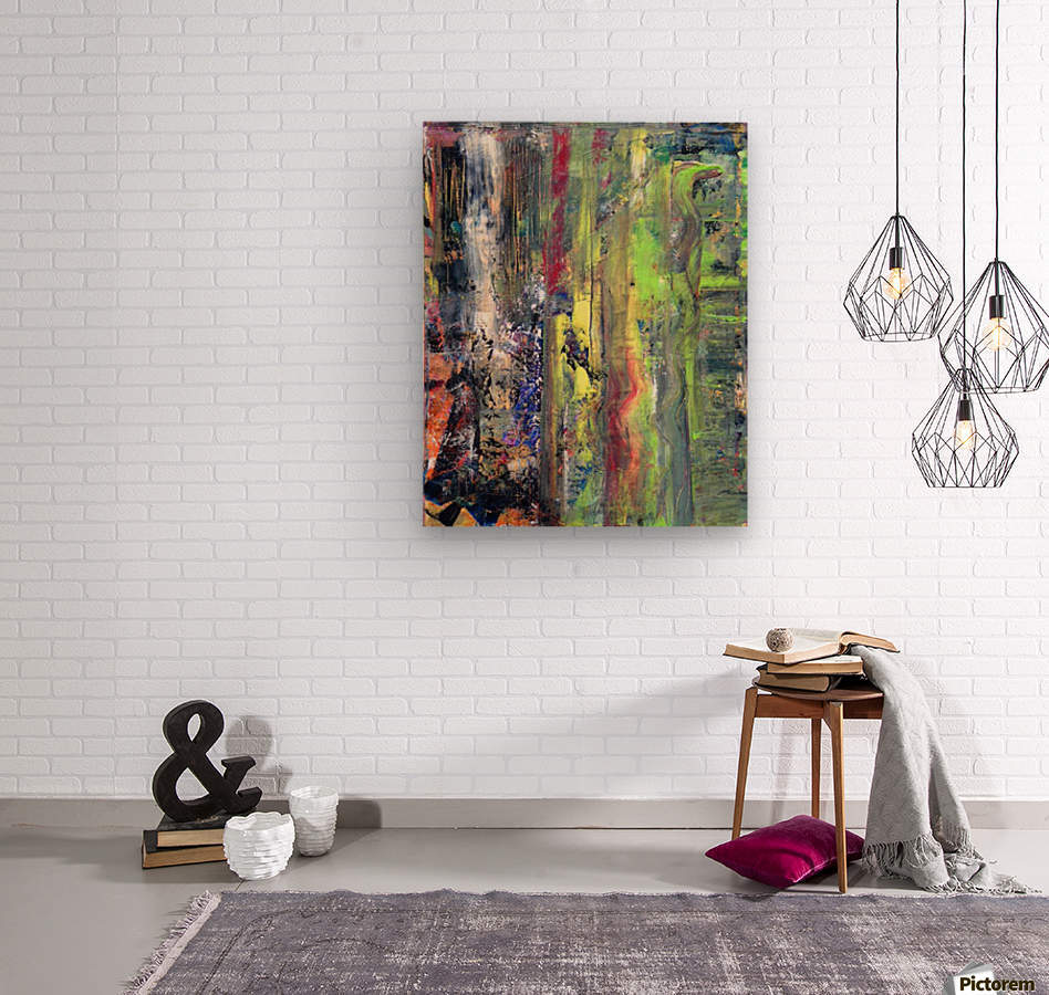 Greenlike  Wood print