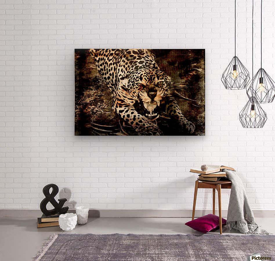 Jaguar Guyana  Wood print