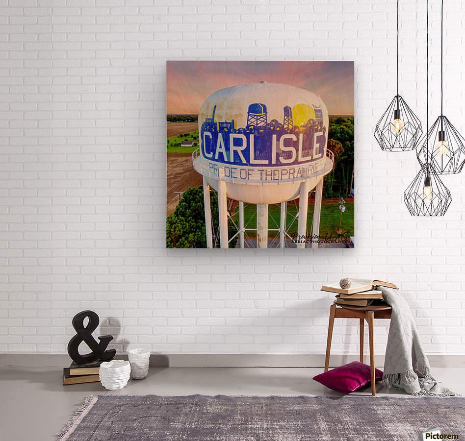 Carlisle, AR   Carlisle Water Twr   Wood print