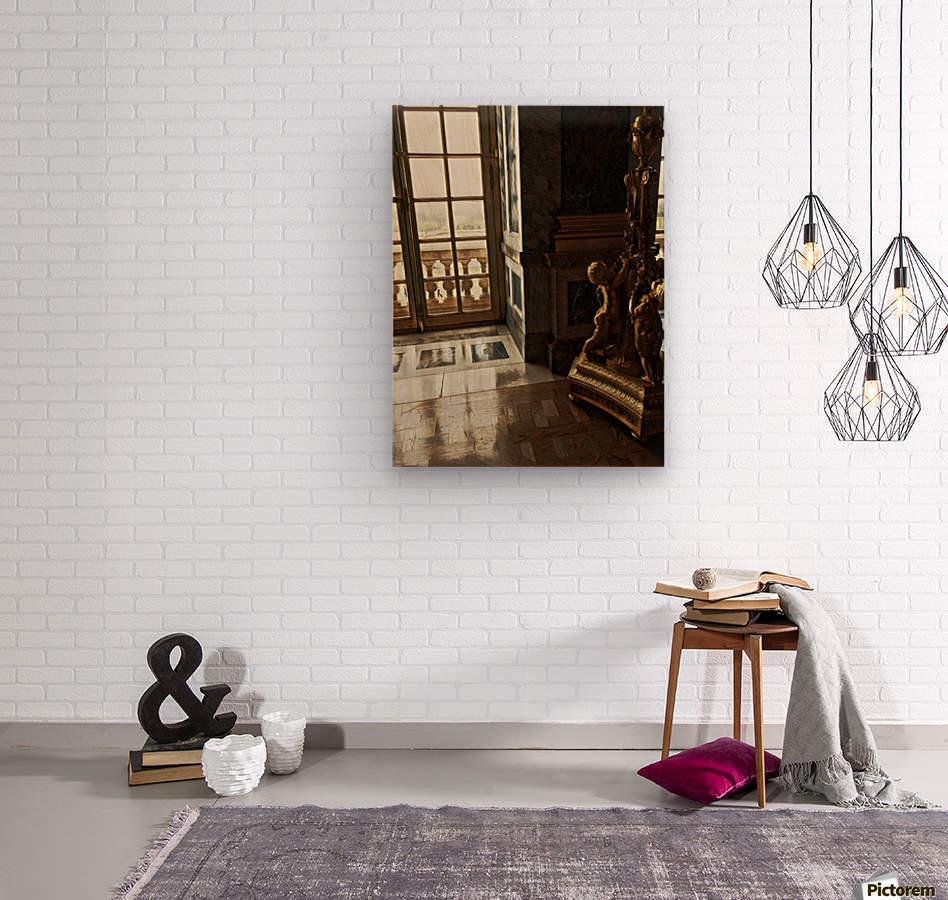 Versailles & Window  Wood print