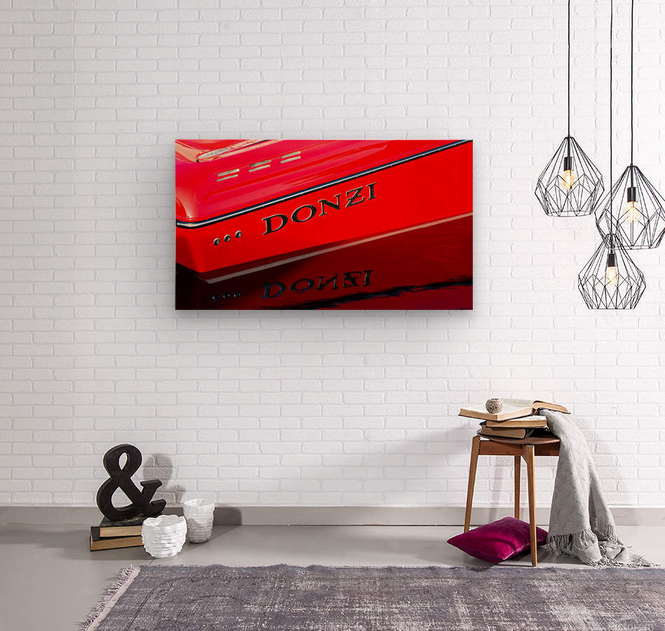 Donzi  Wood print