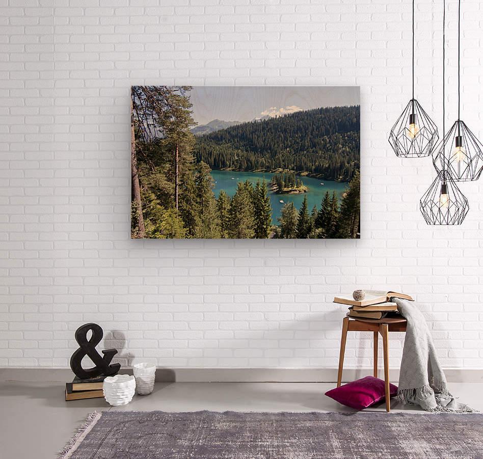 Lake of Cauma  Wood print