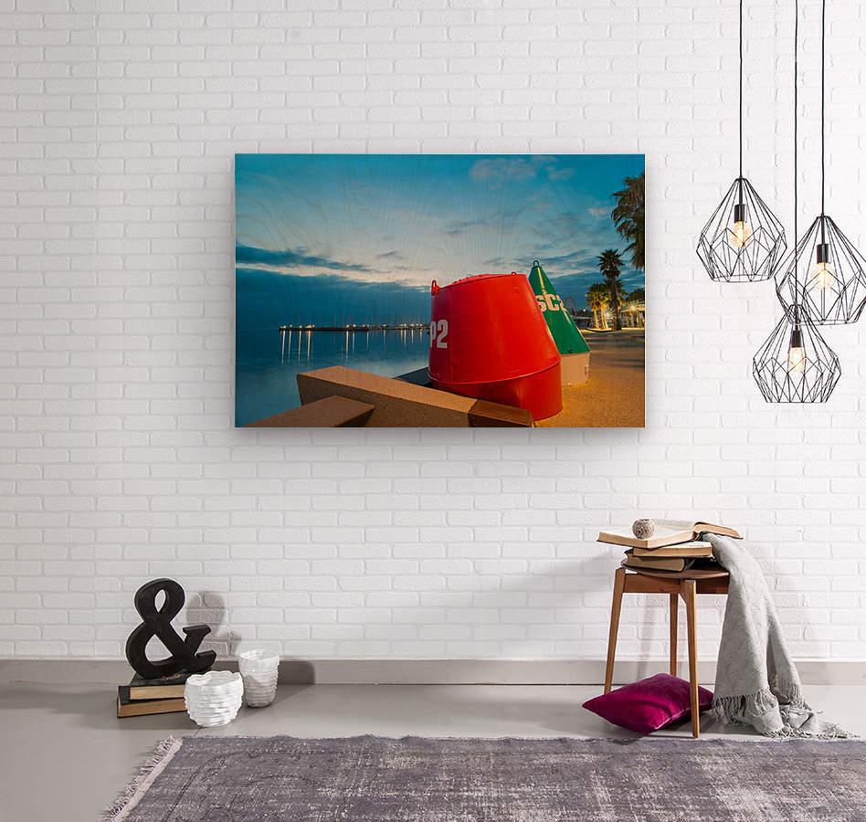 Geelong Waterfront Pre Dawn  Wood print