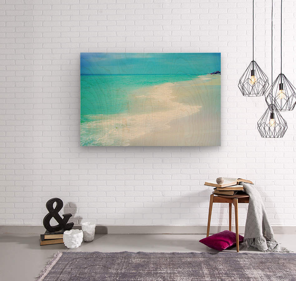 Rosemary Beach  Wood print