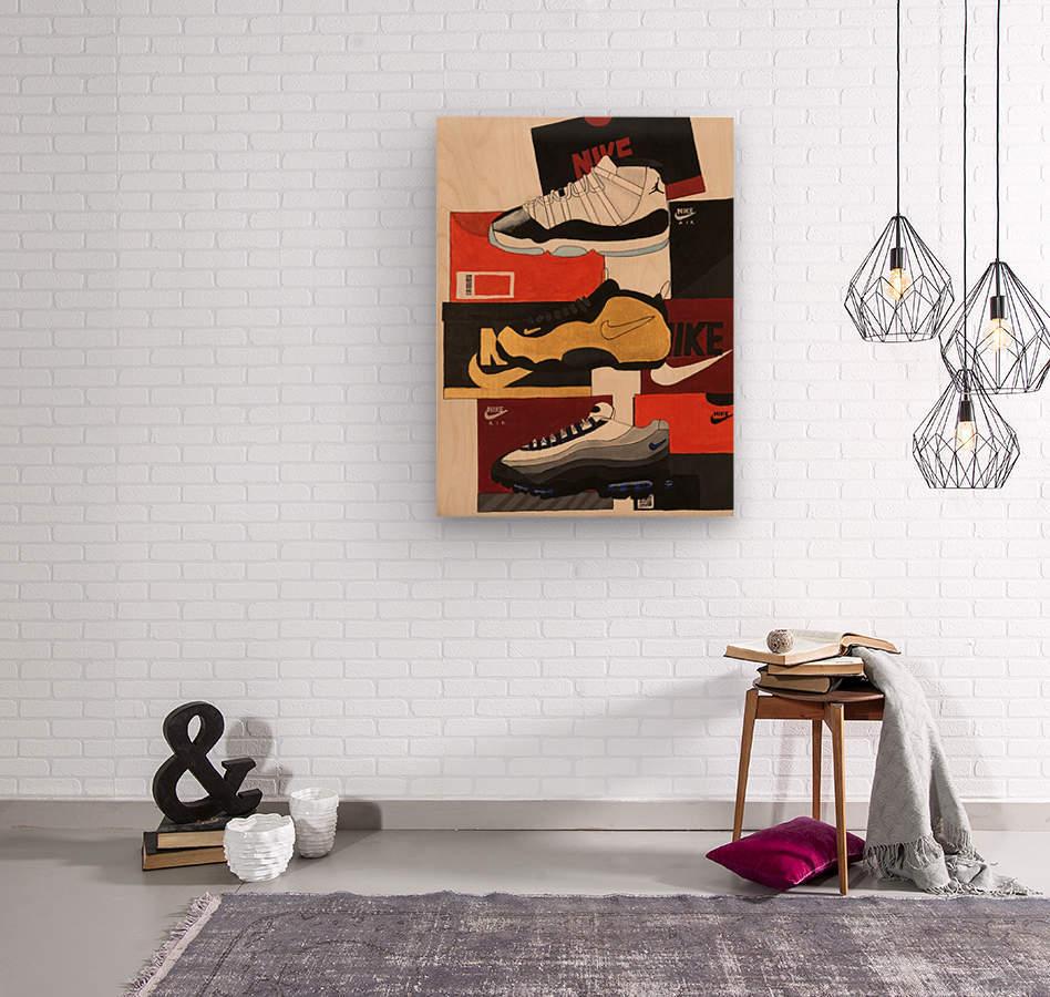 Top 5 - 1  Wood print