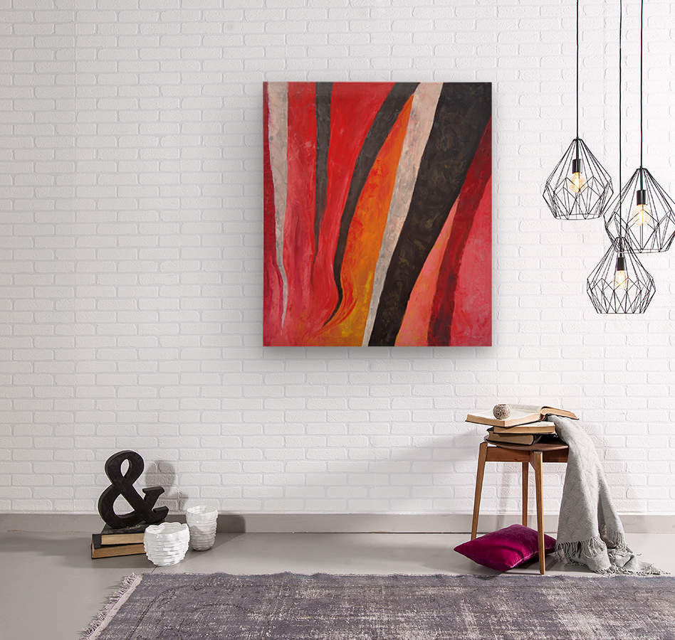 Flames (v)_1526764981.53  Wood print