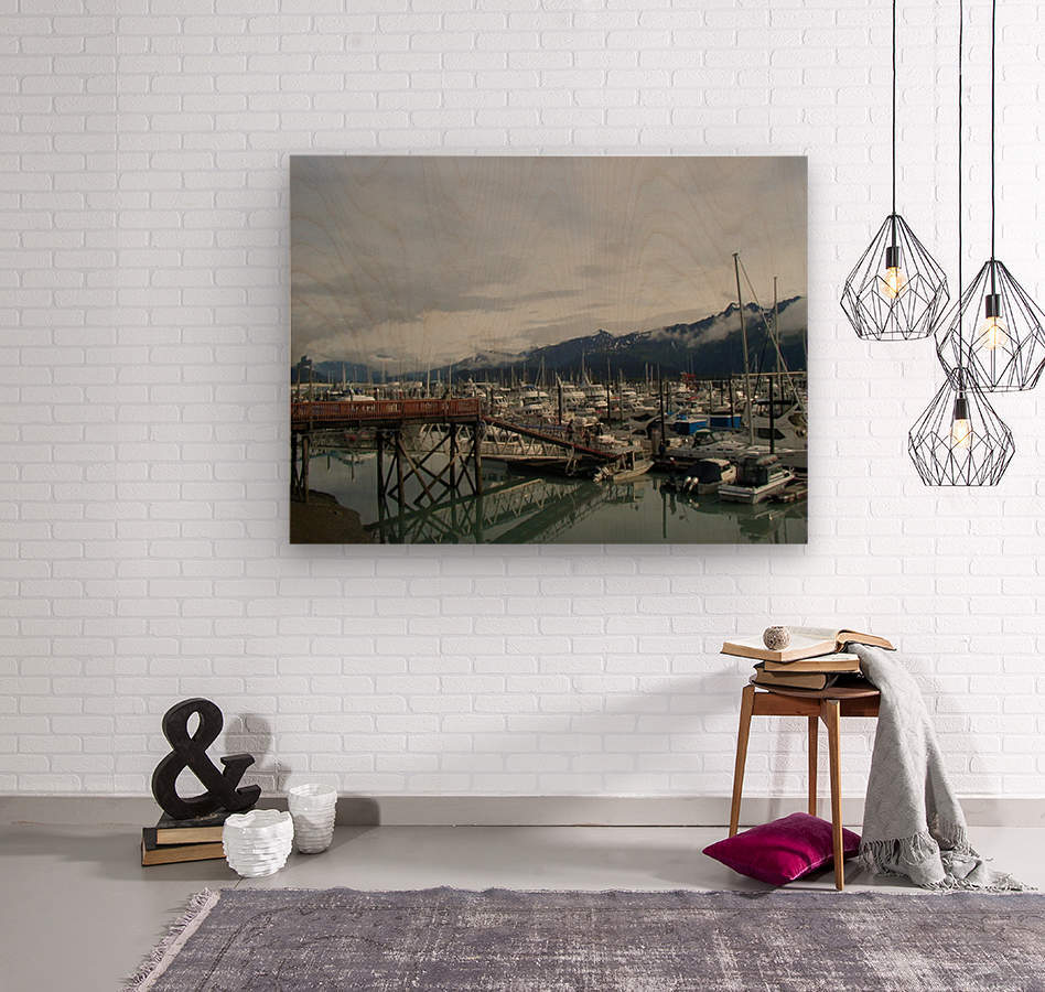 Seward Habor  Wood print