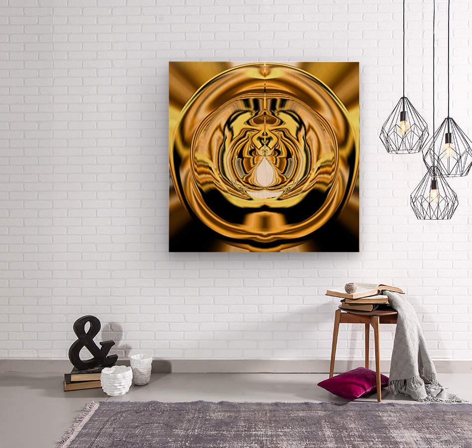 GoldTone3  Wood print