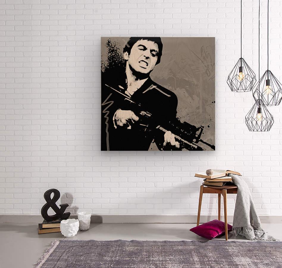 Scarface Charcol - GABA Canvas