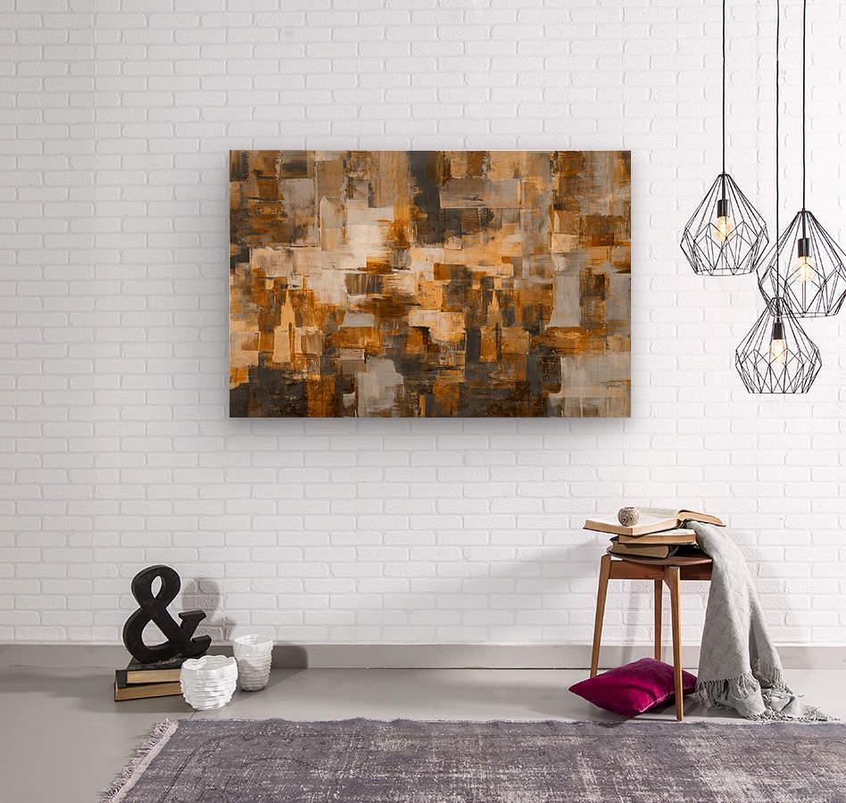 Or  Wood print
