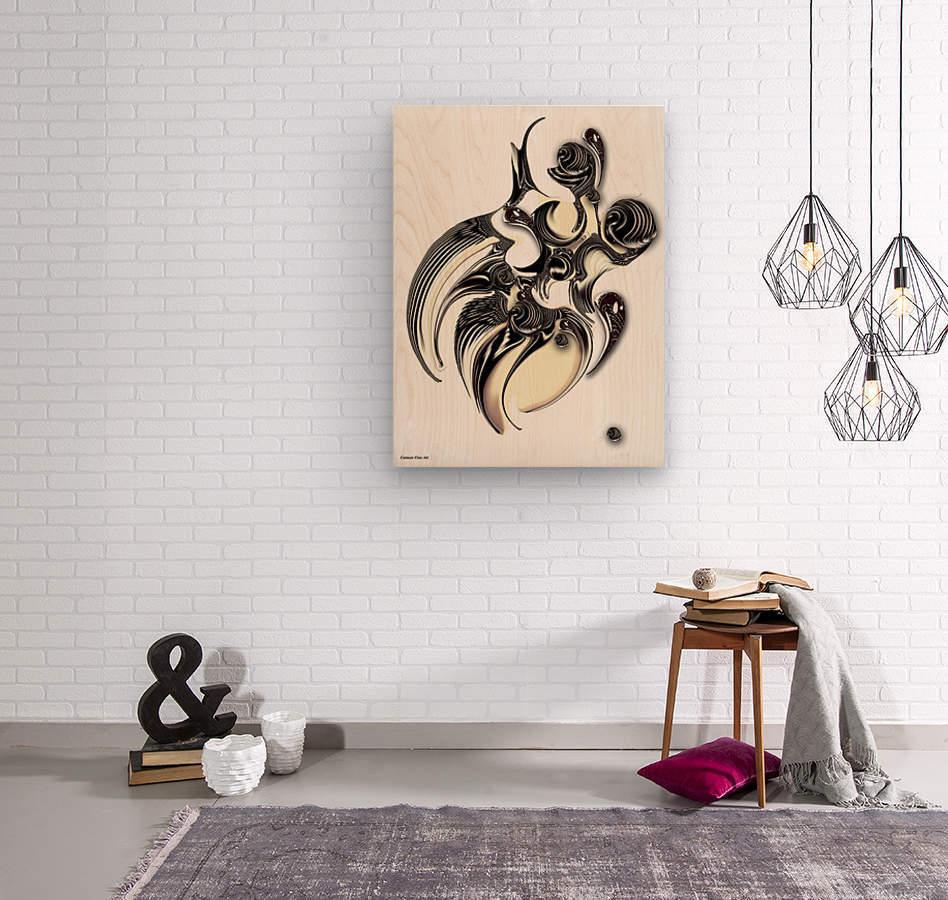 Perceptive Formation  Wood print