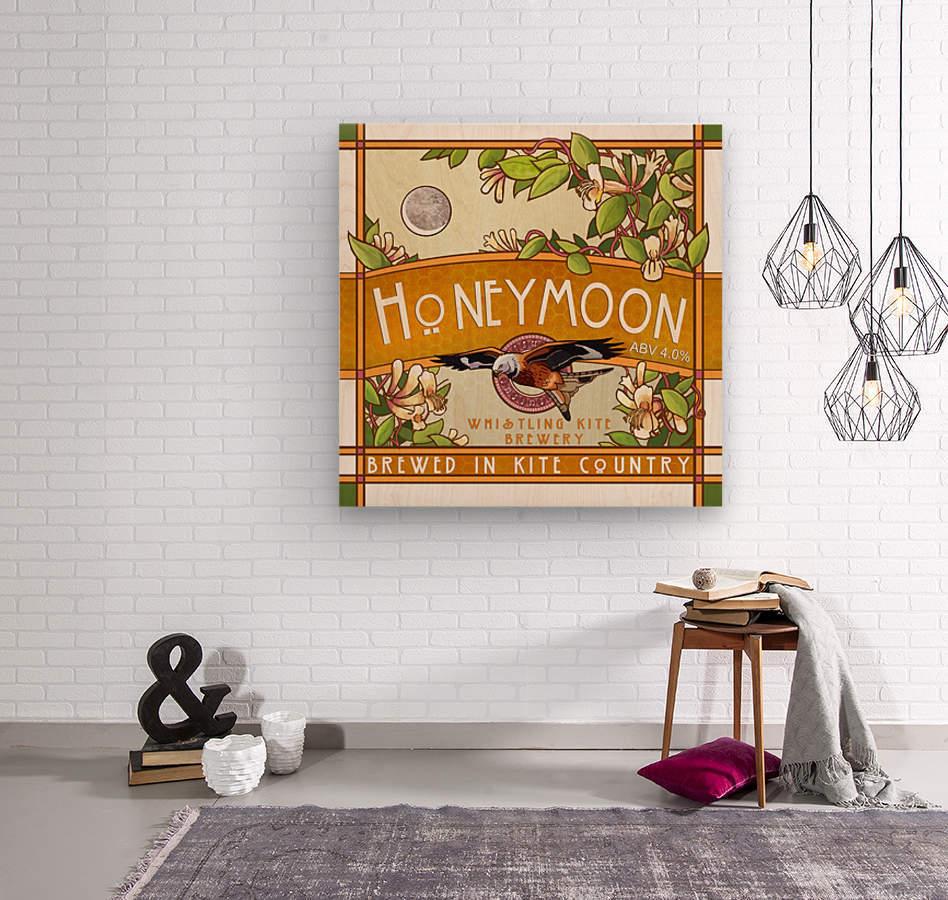 Whistling Kite Brewery: Honeymoon  Wood print