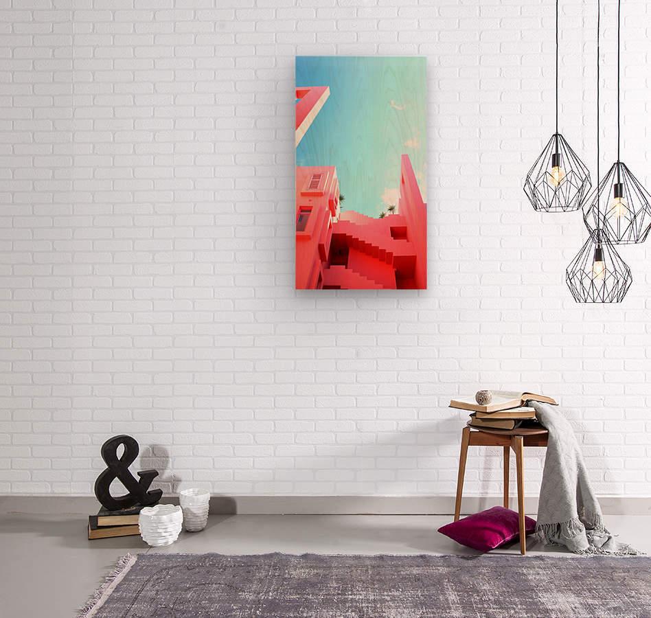 Pink 01_OSG  Wood print
