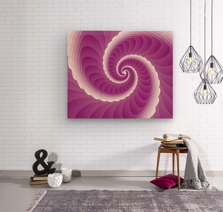 Pinky Art  Wood print