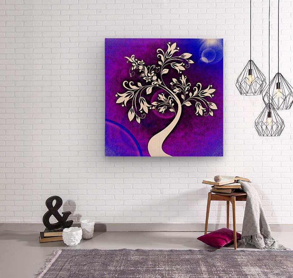 FLOWER TREE 05_OSG  Wood print