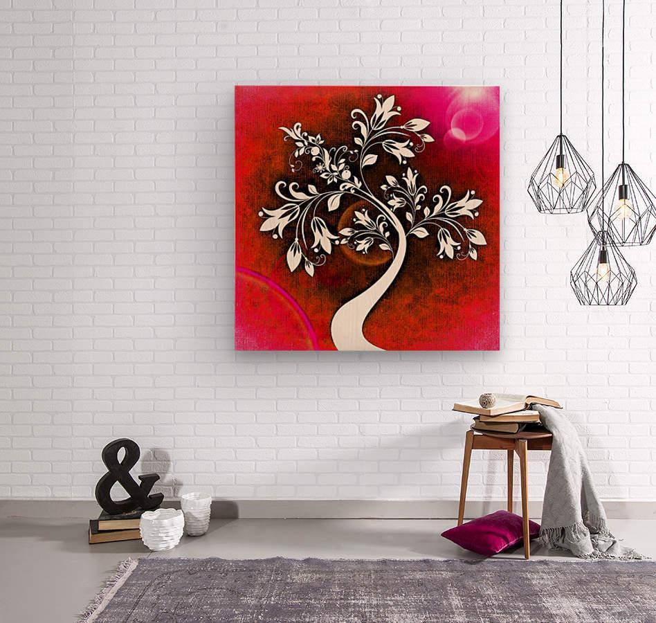 FLOWER TREE 03_OSG  Wood print