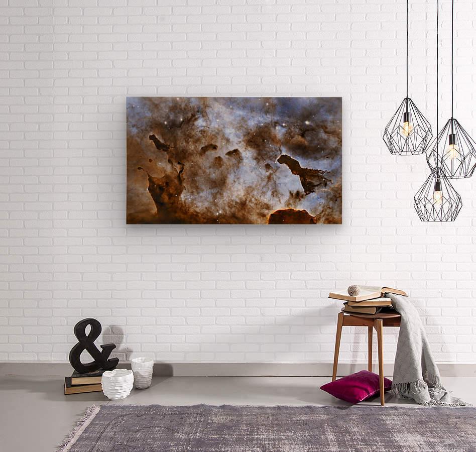 carina nebula star-forming pillars. - stocktrekimages canvas