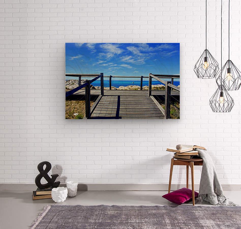 P E R T H - Australia  Wood print