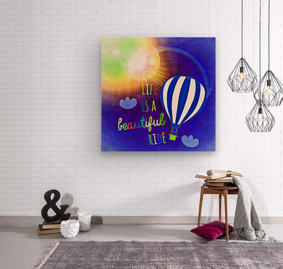 Beautiful Life 03_OSG  Wood print