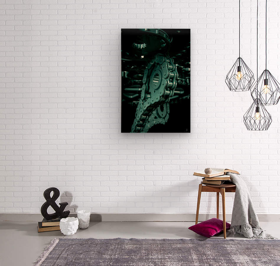 Tiffany chain  Wood print
