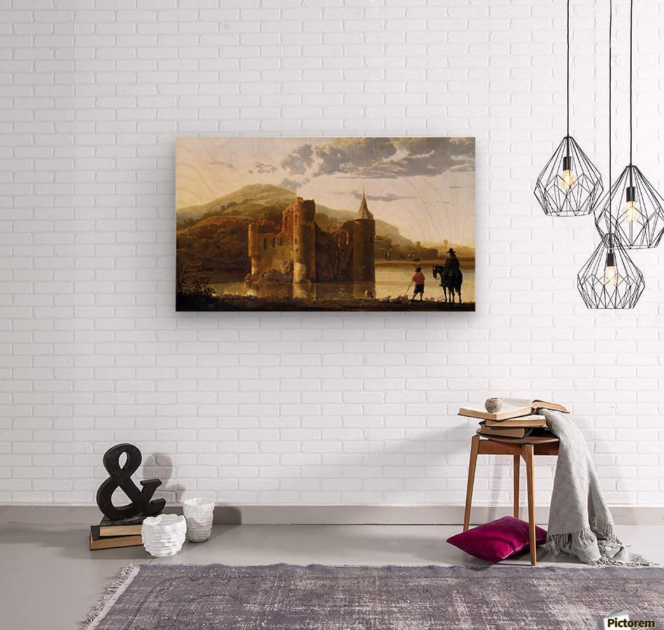 Ubbergen Castle  Wood print