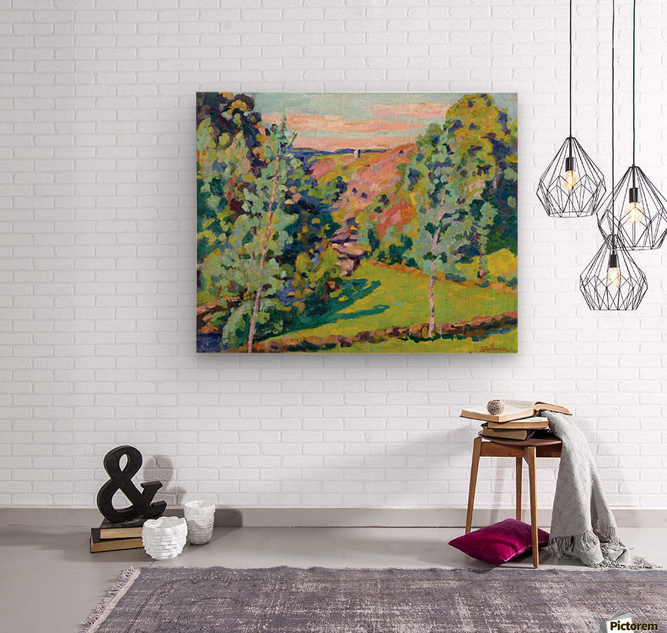 The Valley of Sedelle  Wood print