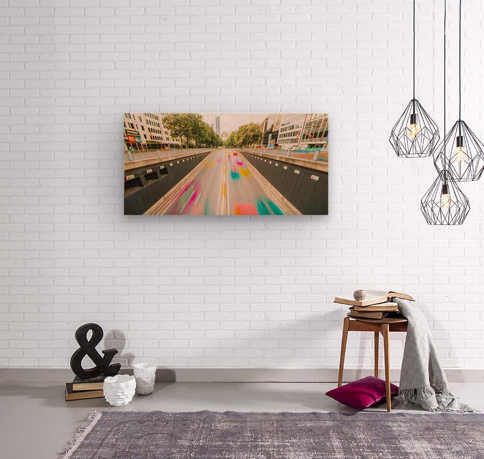 Bruxelles - Colorflow  Impression sur bois