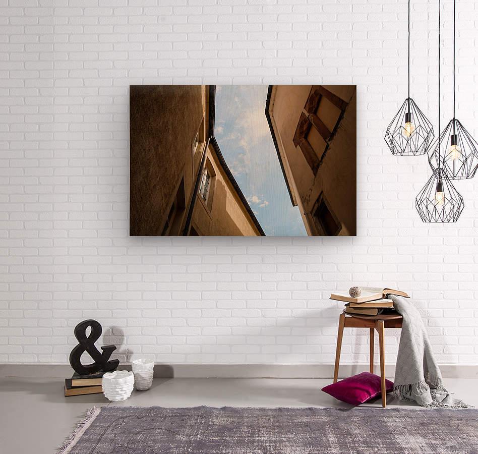 Ruelle de Luxembourg  Impression sur bois