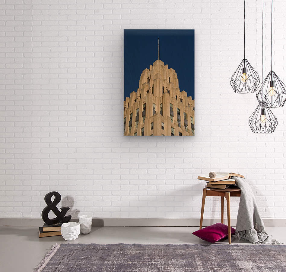 RJR Tower c  Wood print