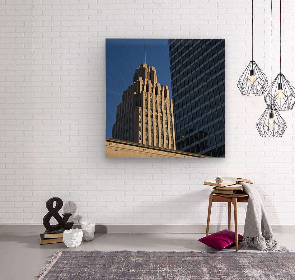 Winston Skyscrapers  Wood print